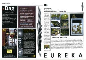 August 2007 - Eureka Living