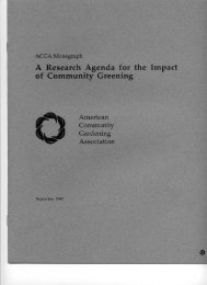 to download a PDF version of - American Community Gardening ...