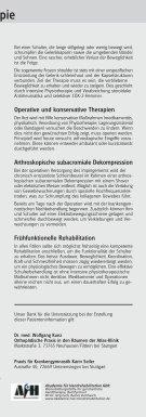 SCHULTER - Sporlastic - Seite 6