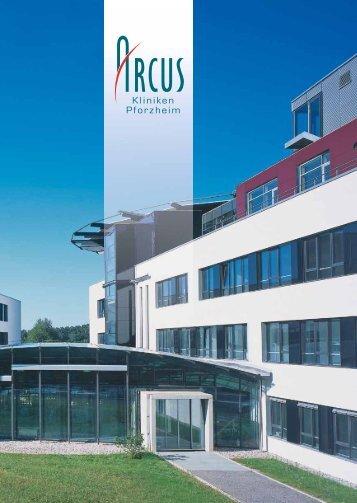 Allgemeine Informationen zu unseren Kliniken - Arcus Sportklinik