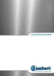Katalog im PDF-Format (Dateigröße: 10 MB) - Lambert GmbH