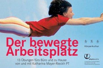 Der bewegte Arbeitsplatz - Physio Austria