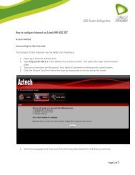 ADSL Routers Configuration How to configure Internet on ... - Etisalat