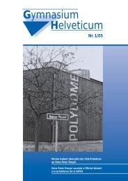 Gymnasium Helveticum Nr. 1/05 - vsg