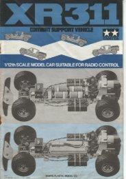Tamiya XR311 Manual - Wheelsacademy.info