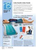 Mit speziellen Komfortzonen für erholsamen Schlaf - Brigitte St. Gallen - Page 3