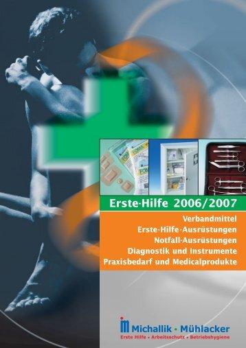 Erste-Hilfe-Ausrüstungen - Fritz Oskar Michallik GmbH & Co.
