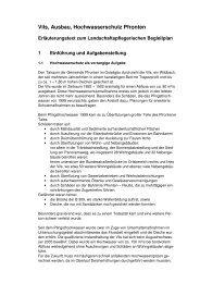 Vils, Ausbau, Hochwasserschutz Pfronten - Rathaus Pfronten