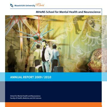ANNUAL REPORT 2009 / 2010 - School for Mental Health and ...