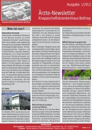 Download PDF / 789 KB - Knappschaftskrankenhaus Bottrop