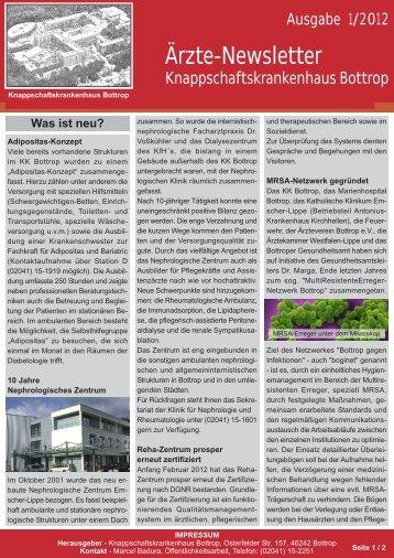 Download PDF / 789 KB - Knappschaftskrankenhaus Bottrop