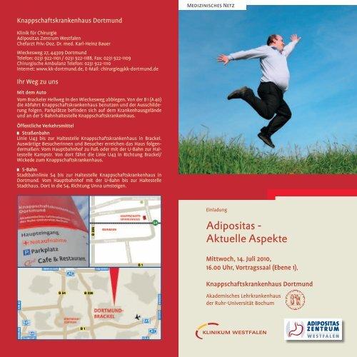 Adipositas - Aktuelle Aspekte - Knappschaftskrankenhaus Dortmund