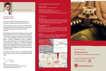 Narbenhernie - Knappschaftskrankenhaus Dortmund