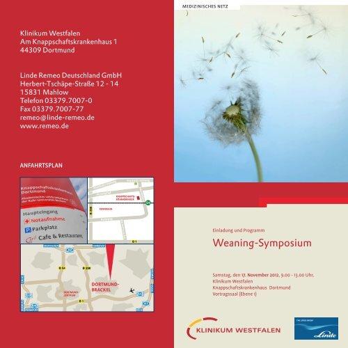 Weaning-Symposium - Knappschaftskrankenhaus Dortmund