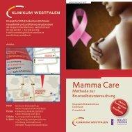 Methode zur Brustuntersuchung Hier erhalten Sie Informationen