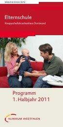 Elternschule - Knappschaftskrankenhaus Dortmund