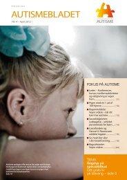 Medlemsblad nr. 4, 2012 - Landsforeningen Autisme