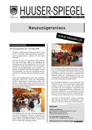 Dezember 2009 - Februar 2010 [PDF, 937 KB] - Gemeinde Hausen ...