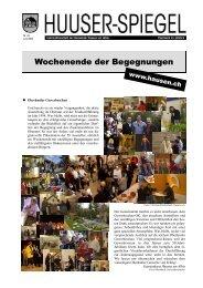 Juni - August [PDF, 3.00 MB] - Gemeinde Hausen am Albis