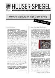 Dezember - Februar 08 [PDF, 522 KB] - Gemeinde Hausen am Albis