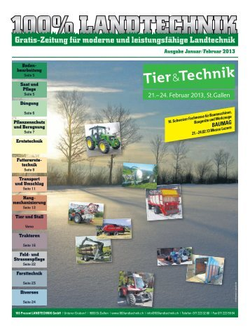 Download PDF 23 MB - 100% LANDTECHNIK