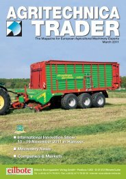 Titel-Trader 1.2011.indd - Agritechnica Trader