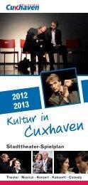 Theaterspielplan - Stadt Cuxhaven