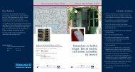 Informationsmaterial + Anfahrt (PDF) - auf den Seiten des ...