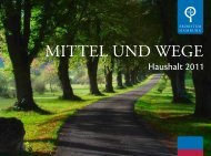 Geschäftsbericht 2011 - Erzbistum Hamburg