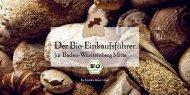 Bio-Einkaufsführer - Oekolandbau.de
