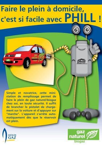 Phill Flyer pour la mini-station de remplissage - Cosvegaz SA