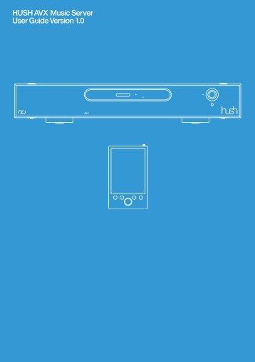 Hush avx user guide pdf - Digital Fidelity