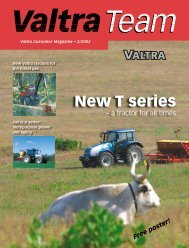 New T series - Valtra