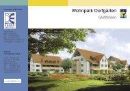 Wohnpark Dorfgarten - Egger Immobilien