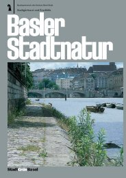 Basler Stadtnatur - Stadtgärtnerei - Basel-Stadt