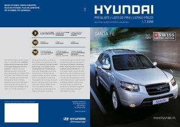 SANTA FE - Huser Automobile AG