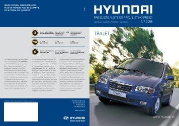 TRAJET - Hyundai