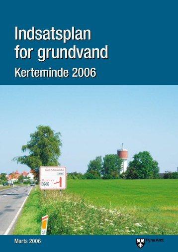 Indsatsplan for grundvand Indsatsplan for grundvand - Naturstyrelsen