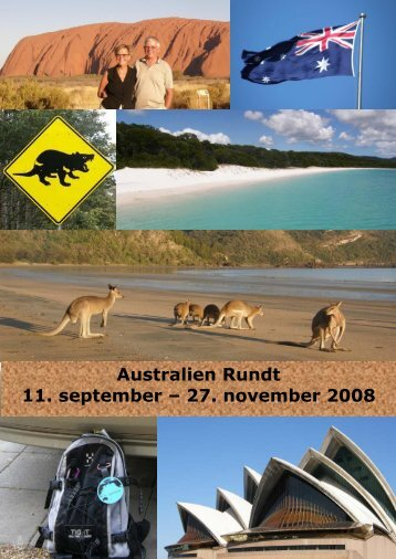 Australien Rundt 11. september – 27. november ... - Curious explorer