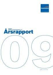 Årsrapport 2009 - Parken