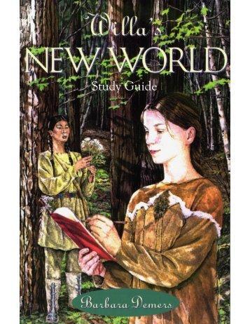 Willa's New World Study Guide - Coteau Books