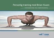 Personlig træning med Brian Husen - Well-come fitness