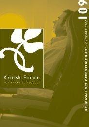 Kritisk Forum 109 - Anis