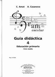 Guia didâctica - Editorial Boileau