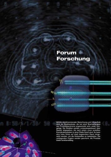 Forum Forschung, Teil 1 - Friedrich-Alexander-Universität Erlangen ...