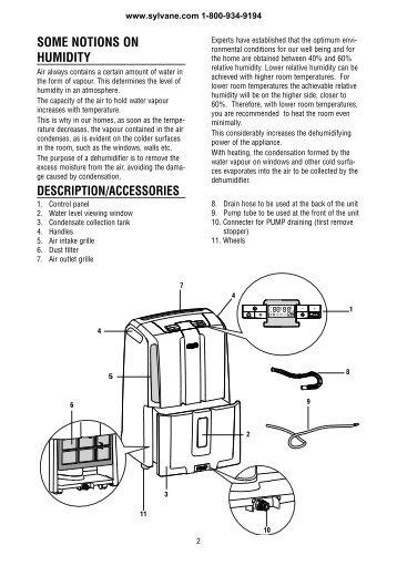 Delonghi Dd50p Dehumidifier Owners Manual Sylvane Meijer