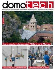 Une couverture atypique pour l'Abbaye de St-Maurice Les filtres fins ...