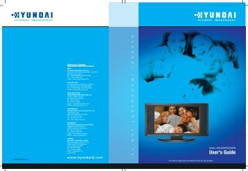 HYUNDAI IMAGEQUEST LCD TV - Glade India Pvt. Ltd.