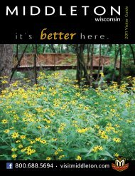 it's better here. - Middleton Tourism Commission