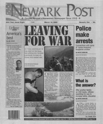 Newark - University of Delaware Library Institutional Repository